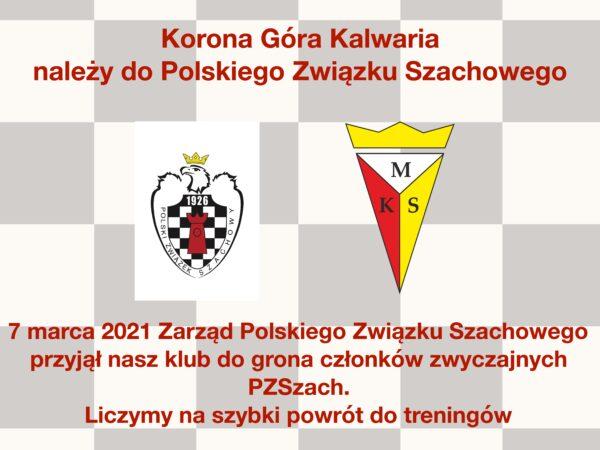 Korona należy do Polskiego Związku Szachowego