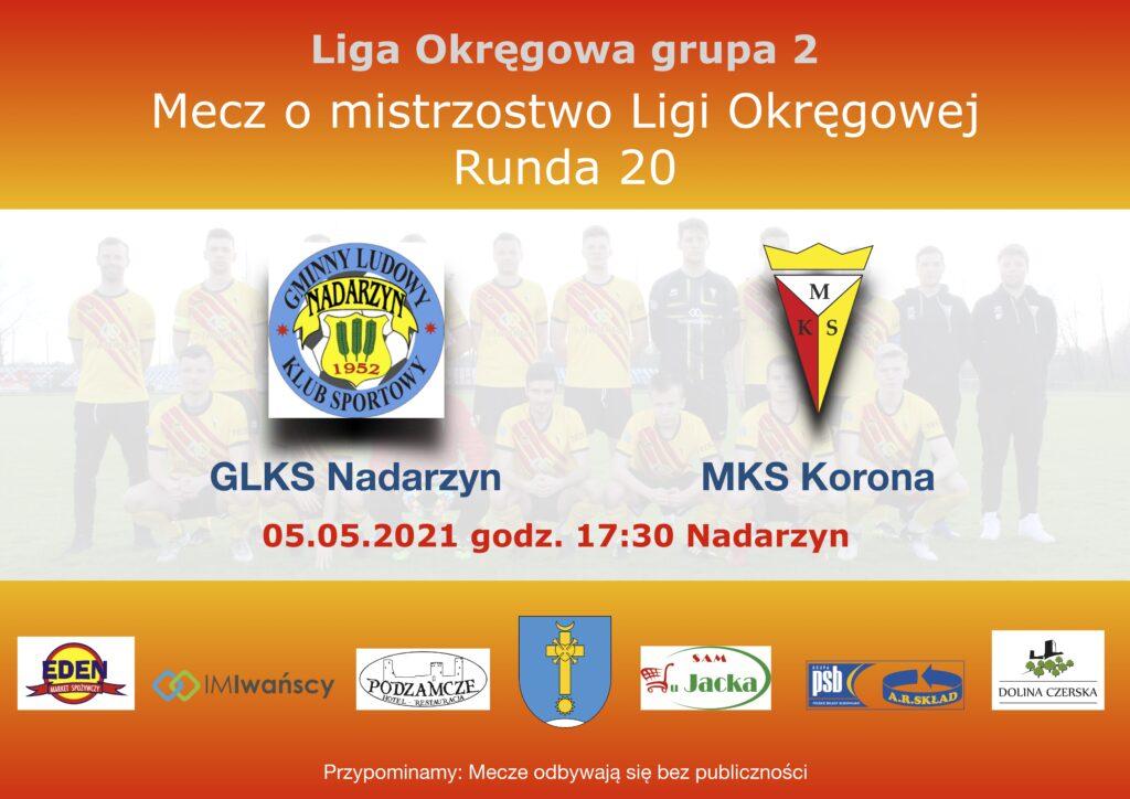Banner GLKS Nadarzyn - Korona