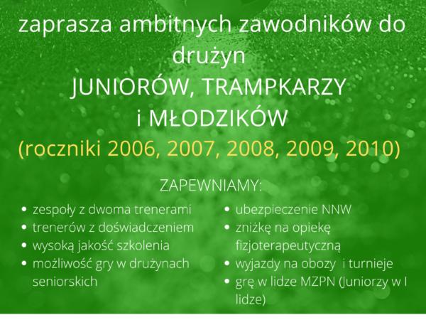Akademia Juniora Korony zaprasza!